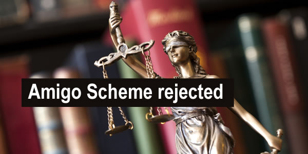 On 24 May 2021 the Amigo Scheme of Arrangement was rejected by the court