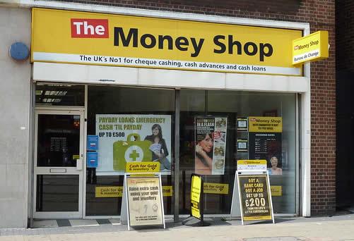A Money Shop in London in 2011