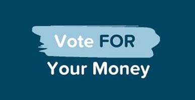 Amigo's slogan fopr the vote on its first Scheme - Vote for your money.