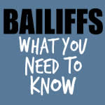 Do you have to let a bailiff in?
