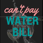 What if you can't afford a water bill?
